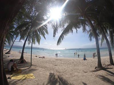 The White Beach In Boracay Island Original