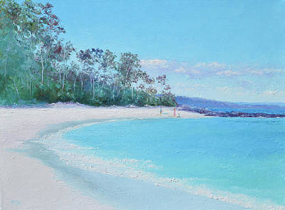 Painting - The White Sands Of Hyams Beach by Jan Matson