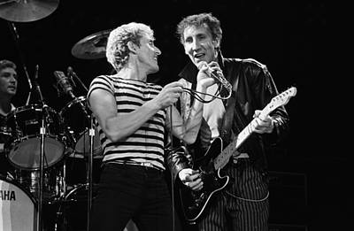Photograph - The Who In Concert At The Forum by George Rose
