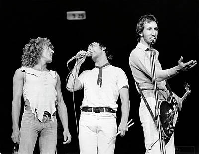 Photograph - The Who Performing Onstage by Waring Abbott