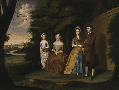 Painting - The Wiley Family by William Williams