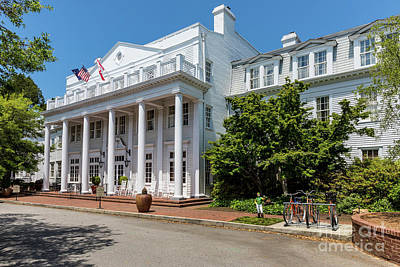 Photograph - The Willcox Hotel - Aiken Sc by Sanjeev Singhal
