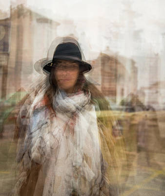 Photograph - The Woman In The Black Hat by Alex Lapidus