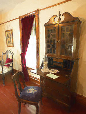 Photograph - The Writing Desk by Leslie Montgomery