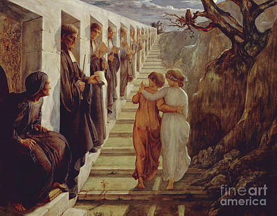 Painting - The Wrong Path by Louis Janmot