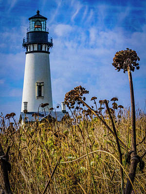 Photograph - The Yaquina Head Lighthouse - Newport, Oregon by Jeff Kurtz