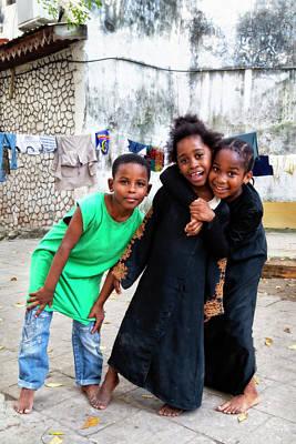 Photograph - The Zanzibar Girls by Kay Brewer