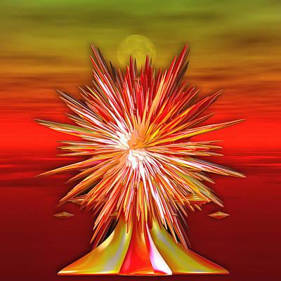 Digital Art - The Zenosphere Chalice by Mario Carini