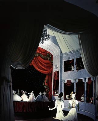 Photograph - Theatre De La Mode Opera Scene by Horst P. Horst