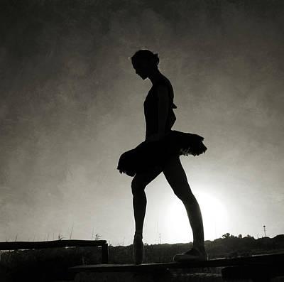 Photograph - Thedancer&thesun by Antonio Arcos Aka Fotonstudio Photography