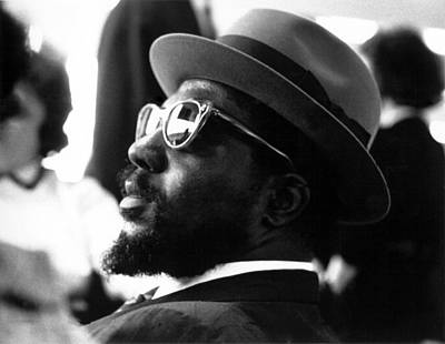 Photograph - Thelonious Monk At The United Nations by Herb Snitzer