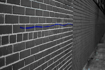 Photograph - Thin Blue Line by Dan Urban