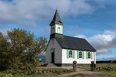 Photograph - Thingvellir Church by RicardMN Photography