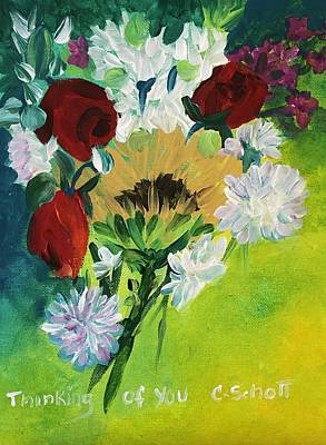 Painting - Thinking Of You by Christina Schott