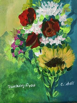 Painting - Thinking Of You II by Christina Schott