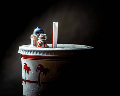 Photograph - Thirsty Droids  by Joseph Caban