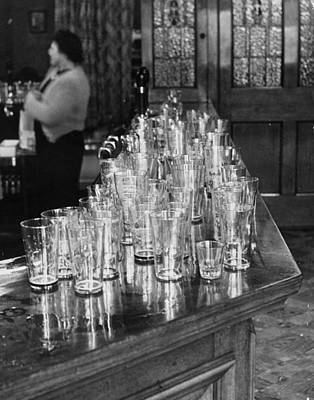 Pub Photograph - Thirsty Work by Chris Ware