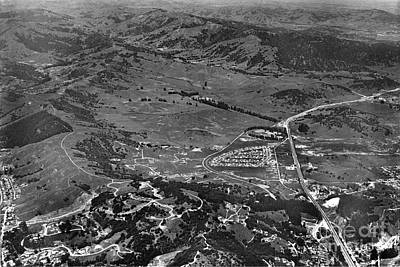 Photograph - This Is View Of North San Rafael Now Terra Linda.  Marin Co.  Ci by California Views Archives Mr Pat Hathaway Archives