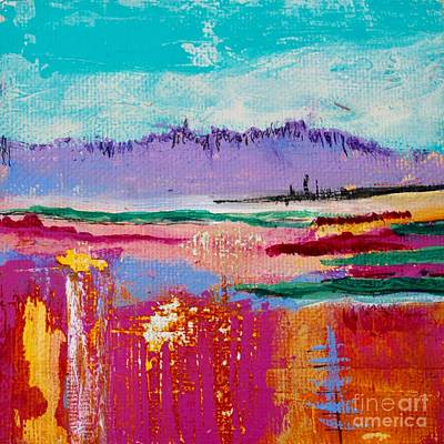 Painting - This Little Landscape by Kim Nelson