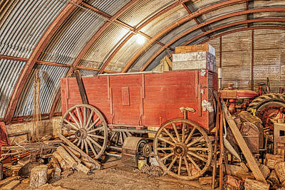 Photograph - This Old Shed Held A Surprise by Jim Thompson