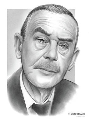 City Scenes - Thomas Mann by Greg Joens
