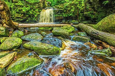 Photograph - Thomason Foss Waterfall by David Ross