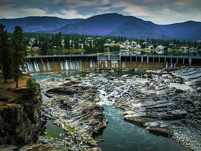 Photograph - Thompson Falls by David Heilman