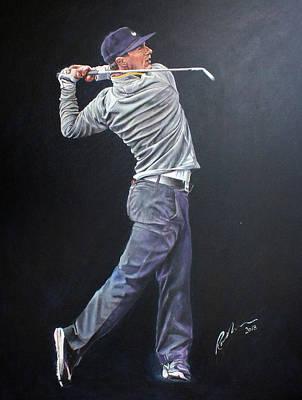 Painting - Thorbjorn Olesen by Mark Robinson