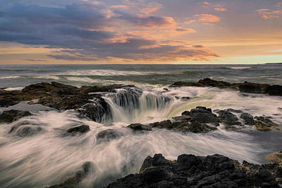 Photograph - Thor's Well by Emmanuel Panagiotakis