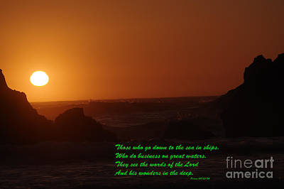 Coastal Quote Wall Art - Photograph - Those by Jeff Swan