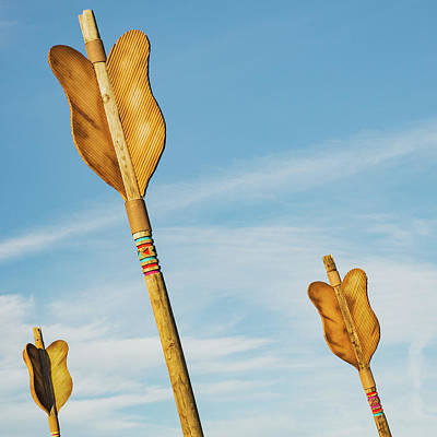 Photograph - Three Arrows - Downtown Fort Smith Arkansas by Gregory Ballos