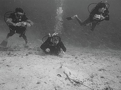 Photograph - Three Guys And A Ray by Climate Change VI - Sales