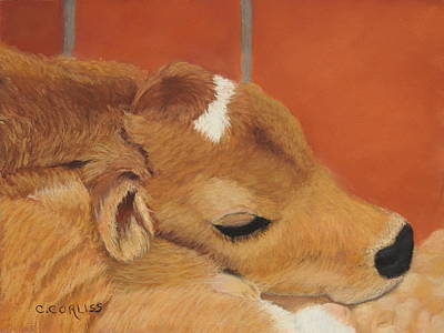 Pastel - Three Hours Old by Carol Corliss
