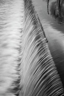 Photograph - Three Mile River V Bw by David Gordon