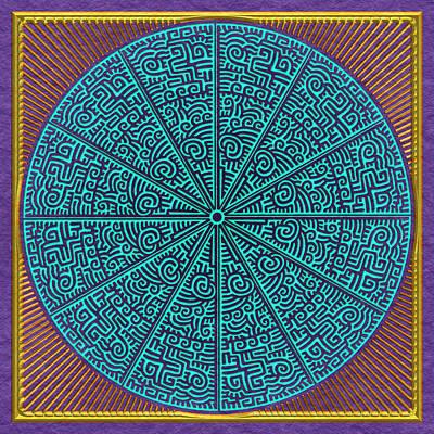 Digital Art - Three Part Harmony by Becky Titus