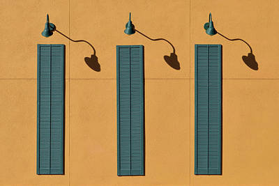 Photograph - Three Shutters by Stuart Allen