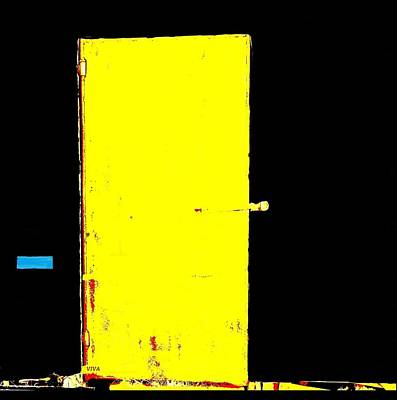 Painting - Threshold - Yellow Door - Dedicated by VIVA Anderson