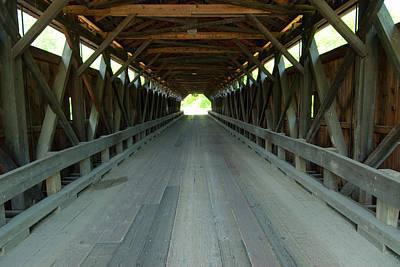 Photograph - Through The Bridge by Paul Mangold