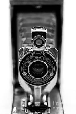 Photograph - Through The Lens Of A Bellows Camera by John Rizzuto