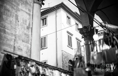 Photograph - Through The Loggia Del Mercato Nuovo Florence by John Rizzuto