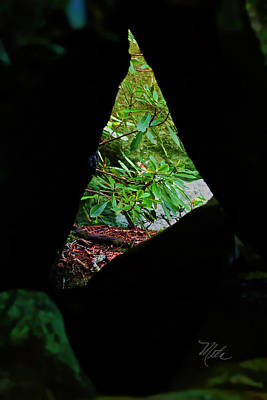 Photograph - Through The Rock by Meta Gatschenberger