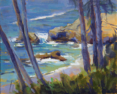 Painting - Through The Trees / Laguna Beach by Konnie Kim