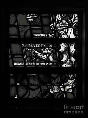 Photograph - Through Thy Poverty, Jesus, Deliver Us by Frank J Casella