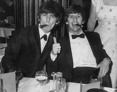 Beatles Photograph - Thumbs Up From Ringo by Express