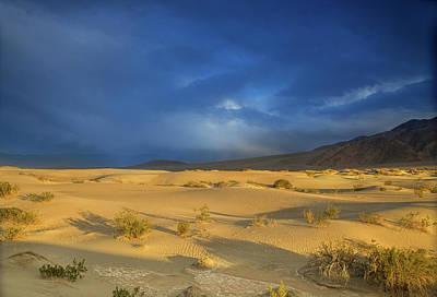 Photograph - Thunder Over The Desert by Kunal Mehra