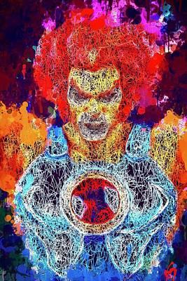 Mixed Media - Thundercats by Al Matra