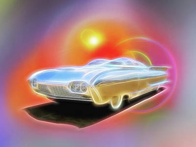 Digital Art - Thunderflite by Rick Wicker