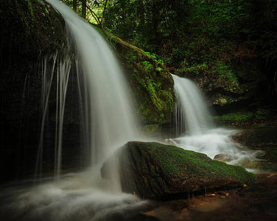 Photograph - Magical Falls - Blowing Rock, North Carolina by Mike Koenig
