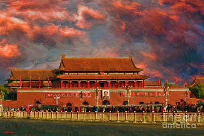 Photograph - Tiananmen Square Beijing  by Blake Richards