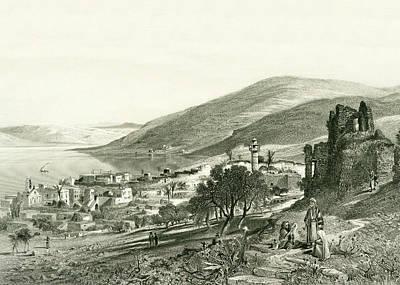 Photograph - Tiberias 1884 by Munir Alawi